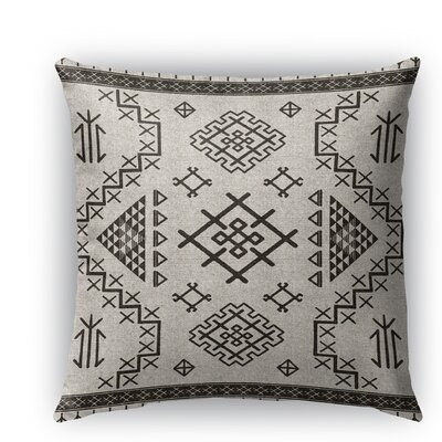 Cyrill Burlap Indoor/Outdoor Throw Pillow Color: Beige, Size: 20 H x 20 W x 5 D