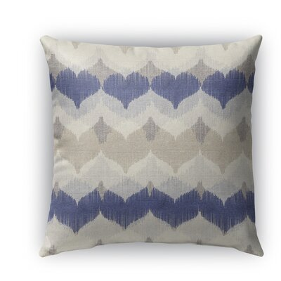 Dylan Burlap Indoor/Outdoor Throw Pillow Size: 18 H x 18 W x 5 D