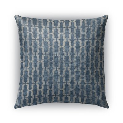 Como Burlap Indoor/Outdoor Throw Pillow Size: 16