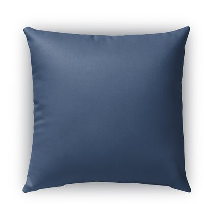 Colorfulab Burlap Indoor/Outdoor Throw Pillow Size: 20 H x 20 W x 5 D