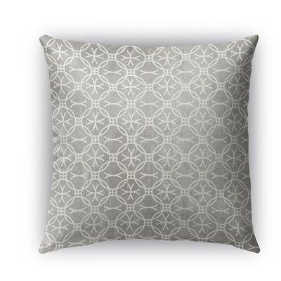 Bitonto Burlap Indoor/Outdoor Throw Pillow Size: 16 H x 16 W x 5 D