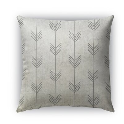 Afternoon Shower Burlap Indoor/Outdoor Throw Pillow Size: 18 H x 18 W x 5 D