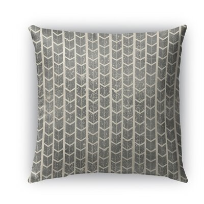 City Rain Indoor/Outdoor Throw Pillow Size: 16 H x 16 W x 5 D