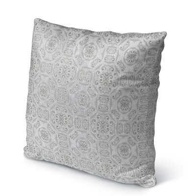 Almer?a Burlap Indoor/Outdoor Pillow Size: 18 H x 18 W x 5 D