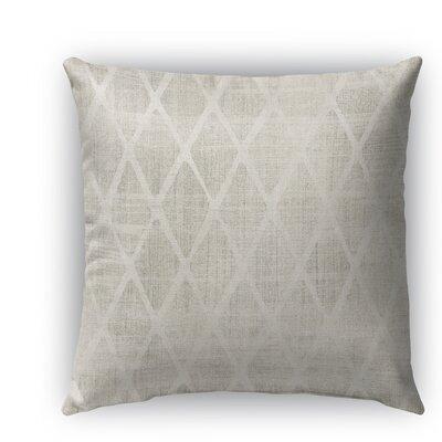 Crotone Burlap Indoor/Outdoor Throw Pillow Size: 18 H x 18 W x 5 D