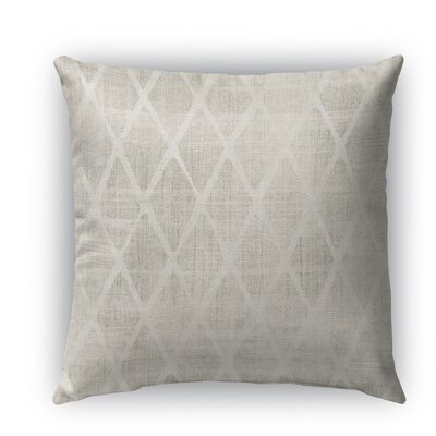 Crotone Burlap Indoor/Outdoor Throw Pillow Size: 26 H x 26 W x 5 D