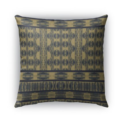 Appa Burlap Indoor/Outdoor Throw Pillow Color: Blue, Size: 26 H x 26 W x 5 D