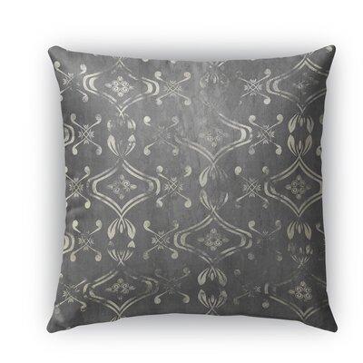 El Durado Burlap Indoor/Outdoor Throw Pillow Color: Gray, Size: 20 H x 20 W x 5 D