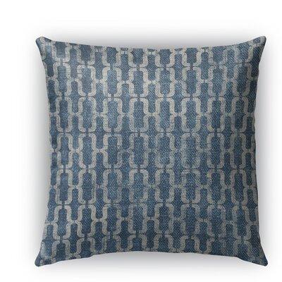 Como Burlap Indoor/Outdoor Throw Pillow Size: 18 H x 18 W x 5 D