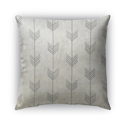 Afternoon Shower Burlap Indoor/Outdoor Throw Pillow Size: 16 H x 16 W x 5 D