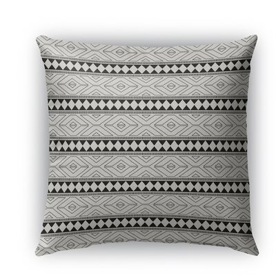 Seville Burlap Indoor/Outdoor Throw Pillow Size: 26 H x 26 W x 5 D