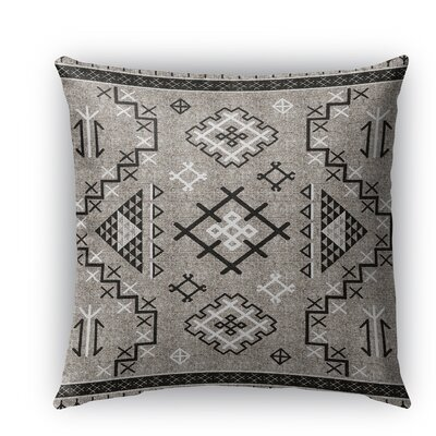 Cyrill Indoor/Outdoor Throw Pillow Size: 26 H x 26 W x 5 D, Color: Black