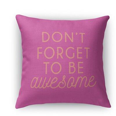 Brooklyn Burlap Indoor/Outdoor Throw Pillow Size: 18 H x 18 W x 5 D