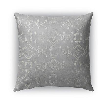 El Durado Burlap Indoor/Outdoor Throw Pillow Size: 26 H x 26 W x 5 D, Color: Light Gray