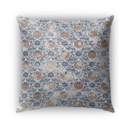 Rogers Burlap Indoor/Outdoor Throw Pillow Size: 26