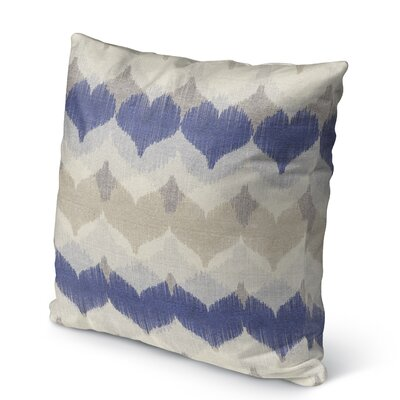 Dylan Burlap Indoor/Outdoor Throw Pillow Size: 18 H x 18 W x 5 D