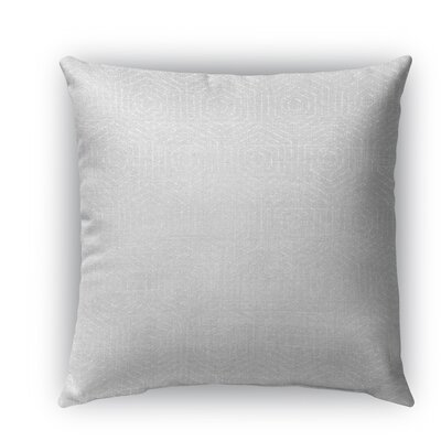 Attica Burlap Indoor/Outdoor Throw Pillow Size: 18 H x 18 W x 5 D
