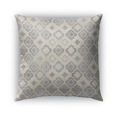 Taranto Burlap Indoor/Outdoor Throw Pillow Size: 16 H x 16 W x 5 D