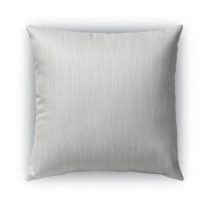 Trento Burlap Indoor/Outdoor Throw Pillow Size: 16 H x 16 W x 5 D