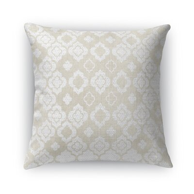 Vicenza Burlap Throw Pillow Size: 24 H x 24 W x 5 D