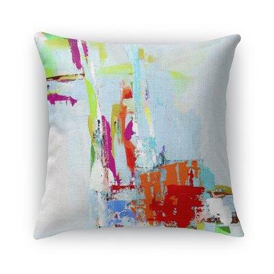 Tropical Tease Burlap Indoor/Outdoor Throw Pillow Size: 16 H x 16 W x 5 D