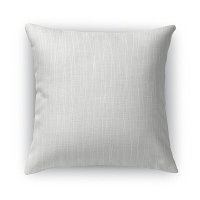 Trento Burlap Throw Pillow Size: 24 H x 24 W x 5 D