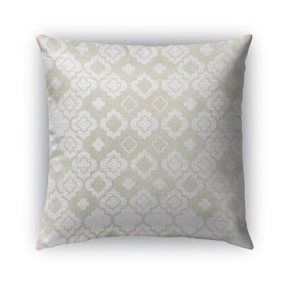 Vicenza Burlap Indoor/Outdoor Throw Pillow Size: 16 H x 16 W x 5 D
