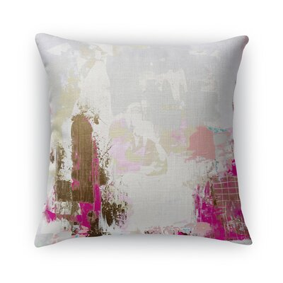 Sherilyn Burlap Throw Pillow Size: 24 H x 24 W x 5 D