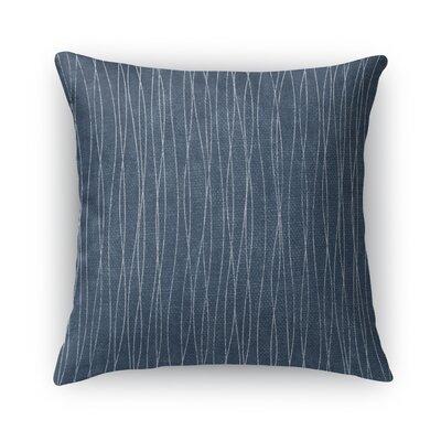 Terni Burlap Throw Pillow Size: 16 H x 16 W x 5 D