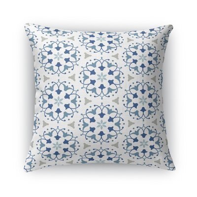 Kaleidoscope Burlap Throw Pillow Size: 16 H x 16 W x 5 D