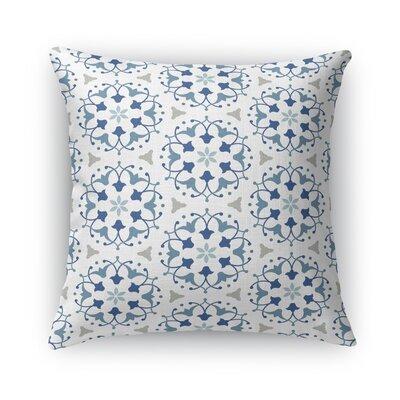 Kaleidoscope Burlap Throw Pillow Size: 18 H x 18 W x 5 D
