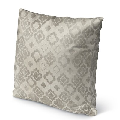 Trieste Burlap Indoor/Outdoor Pillow Size: 16 H x 16 W x 5 D