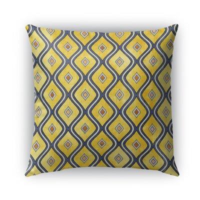 Verona Burlap Indoor/Outdoor Throw Pillow Size: 16 H x 16 W x 5 D