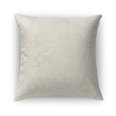 Versilia Burlap Throw Pillow Size: 24 H x 24 W x 5 D