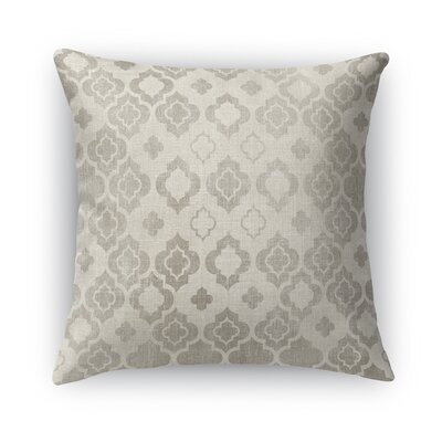 Trieste Burlap Throw Pillow Size: 24 H x 24 W x 5 D