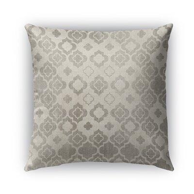 Trieste Burlap Indoor/Outdoor Throw Pillow Size: 18 H x 18 W x 5 D