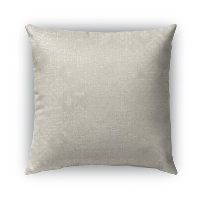Versilia Burlap Indoor/Outdoor Throw Pillow Size: 18 H x 18 W x 5 D