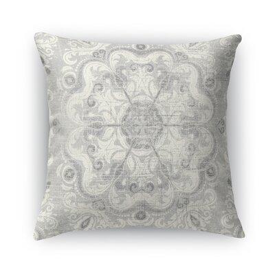 Toledo Burlap Throw Pillow Size: 24 H x 24 W x 5 D
