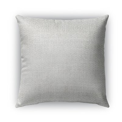 Volos Burlap Indoor/Outdoor Throw Pillow Size: 18 H x 18 W x 5 D