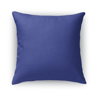 Large Diamond Blue Accent Pillow Size: 18 H x 18 W x 5 D
