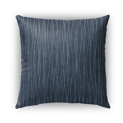Terni Burlap Indoor/Outdoor Throw Pillow Size: 18 H x 18 W x 5 D