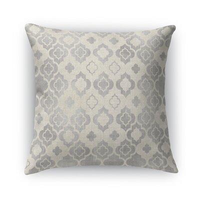 Taranto Burlap Throw Pillow Size: 24 H x 24 W x 5 D