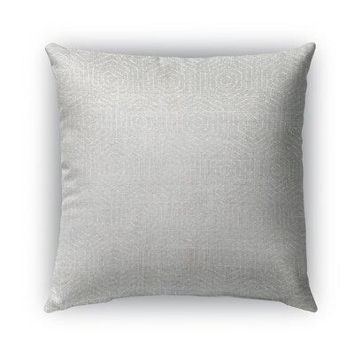 Volos Burlap Indoor/Outdoor Throw Pillow Size: 18 H x 18 W x 5 D