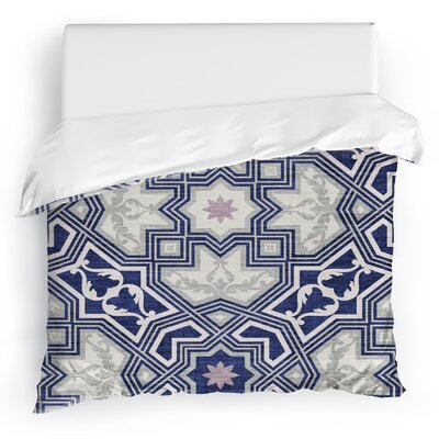 Aimee Duvet Cover Size: Twin, Color: Purple