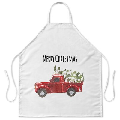 Christmas Truck Apron