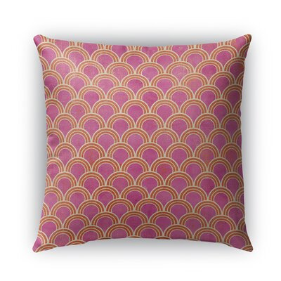 Rimini Burlap Indoor/Outdoor Throw Pillow Size: 20 H x 20 W x 5 D