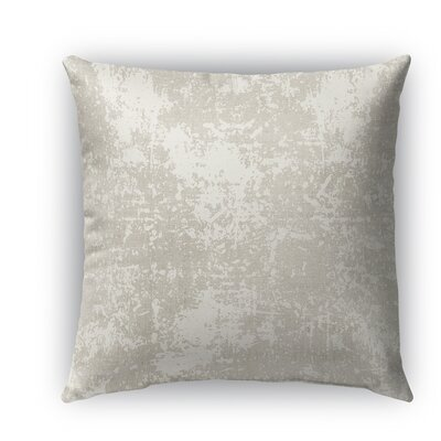 Ravenna Burlap Indoor/Outdoor Throw Pillow Size: 16 H x 16 W x 5 D