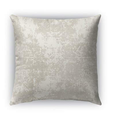 Ravenna Burlap Indoor/Outdoor Throw Pillow Size: 20 H x 20 W x 5 D