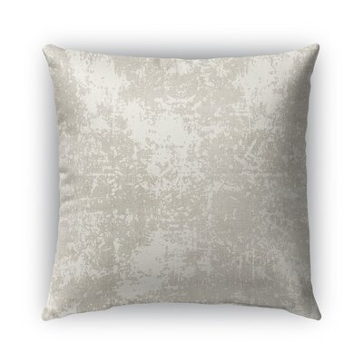 Ravenna Burlap Indoor/Outdoor Throw Pillow Size: 18 H x 18 W x 5 D