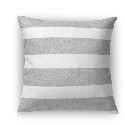 Centerville Burlap Indoor/Outdoor Throw Pillow Size: 18 H x 18 W x 5 D